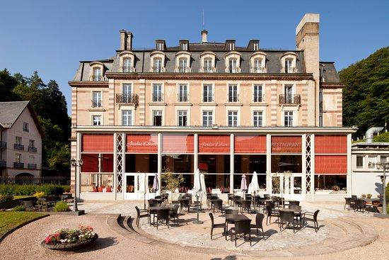Le jardin d 39 hiver plombi res les bains restaurant avis for Bains les bains restaurant