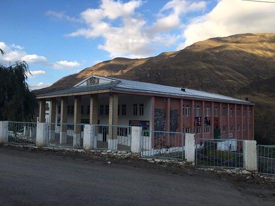 Republic of Dagestan, Russia: Дом культуры в селении Цуриб Чародинского района