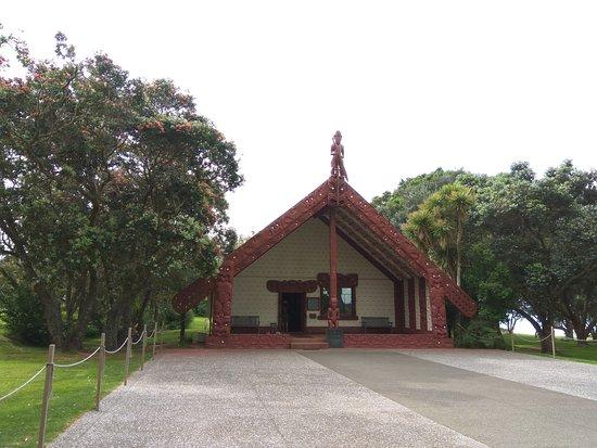 เปเฮีย, นิวซีแลนด์: Maori hall