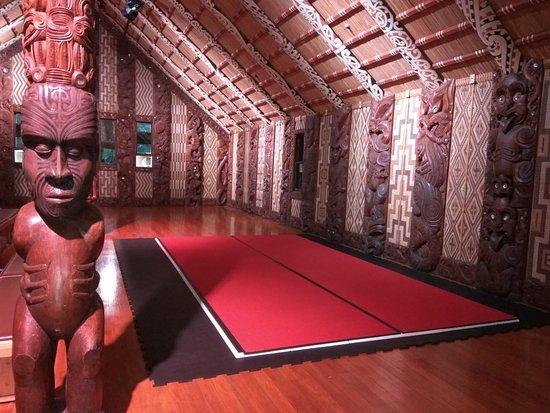 Paihia, Nueva Zelanda: Maori hall