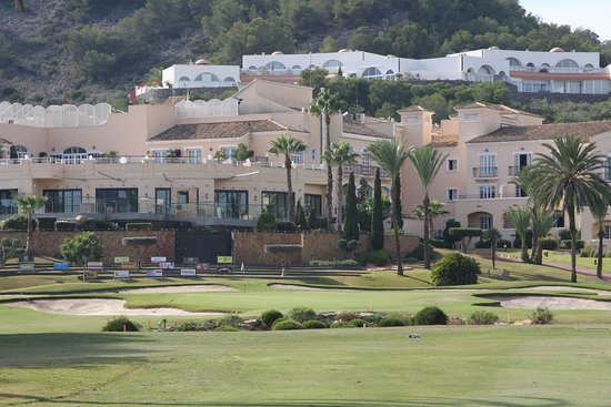 Los Belones, Spain: 18th green South Course