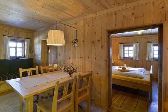 Tschagguns, Austria: Maisäss Matschwitz Wohnzimmer