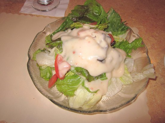 Bristol, PA: House Salad with Creamy Itl. dressing
