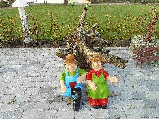 Maribo, Danmark: Au Jardin.