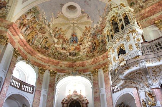 Kappl: barocke Malereien