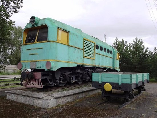 Monument to locomotive TU-2