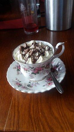 The General Burgoyne: Christmas sherry trifle, amazing