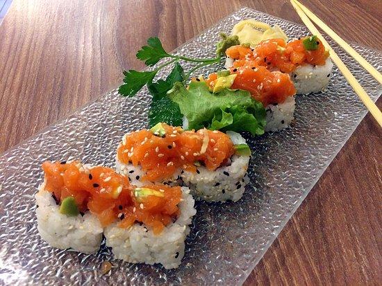 Limbiate, Italië: Spicy salmon maki🍣 (9€)