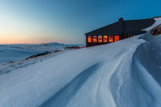 STF Sylarna Mountain Lodge: Insikt mot matsalen