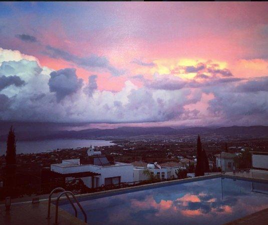 Neo Chorion, Cyprus: Villa Genevieve Sunset