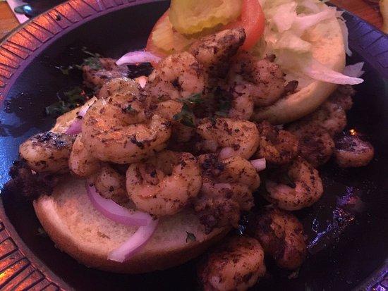 ลองบีช, มิซซิสซิปปี้: Shrimp sandwich