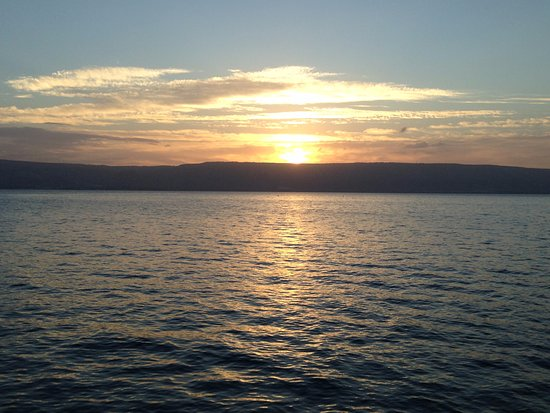 Sunrise on the Sea of Galilee from Ron Beach Hotel