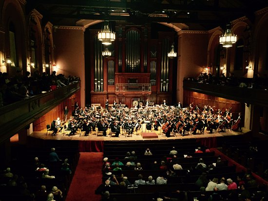 Oberlin, OH: Cleveland Orchestra in Finney Chapel