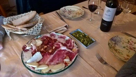 Crecchio, อิตาลี: antipasto