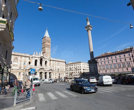 Street at the Hotel Doria