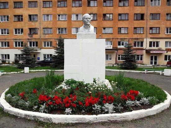 The Bust of V.I. Lenin