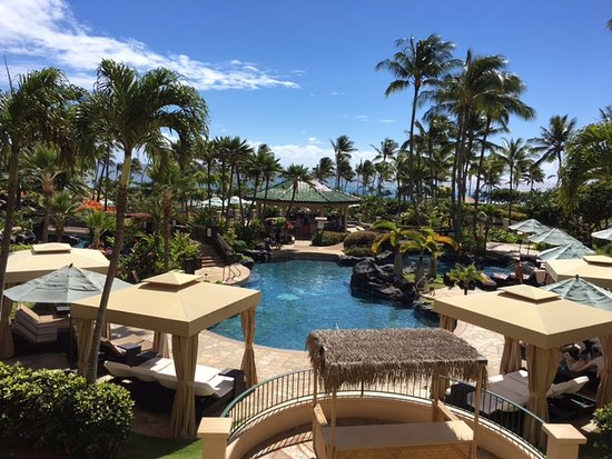 Grand Hyatt Kauai Resort & Spa: A huge thanks to the lady who checked us in! Great room view!