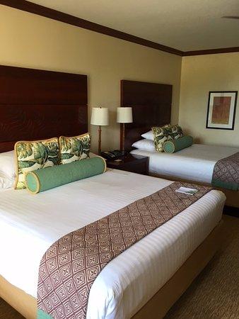 Grand Hyatt Kauai Resort & Spa: The room was nice, but not luxury.