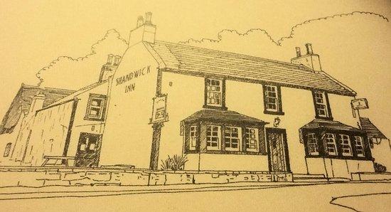 Invergordon, UK: Shandwick Inn -- an up-to-date version of an early 19th Century coaching inn