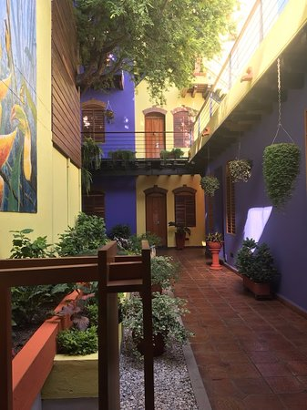 Casa de Isabella - a Kali Hotel: Rooms open up into this pretty area