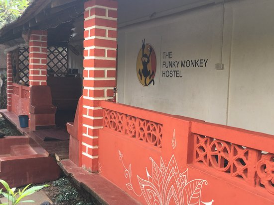 Anjuna, Indie: The Funky Monkey Hostel