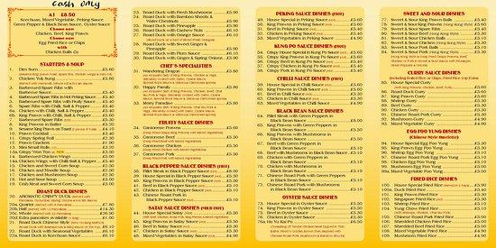 Stourbridge, UK: Wordsley Chinese Restaurant
