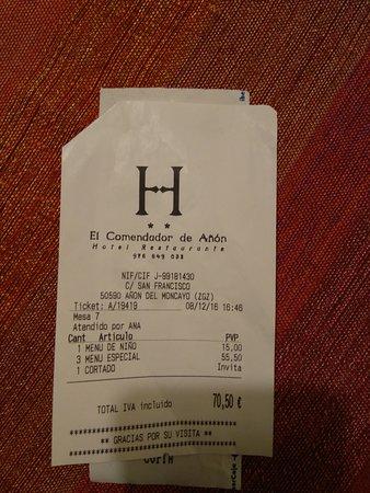 Hotel Restaurante Chill-Out El Comendador de Añon: IMG_20161208_192845_large.jpg