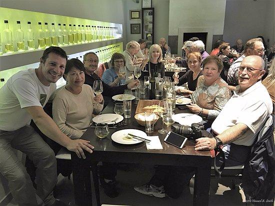 Vodnjan, Kroatien: Chiavalon tasting room