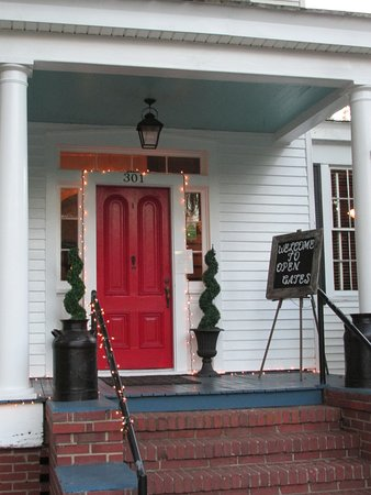 Open Front Door From Inside open gates bed and breakfast is even more inviting inside the