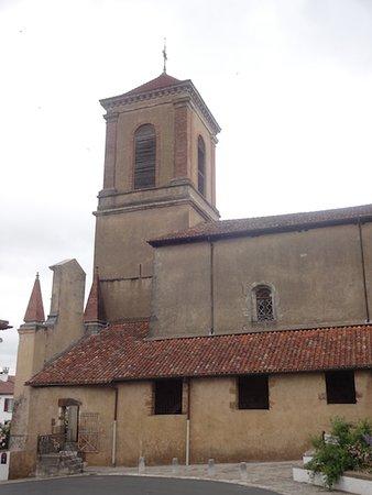 Église Notre-Dame-de-l'Assomption, La Bastide-Clairence (64, Nouvelle Aquitaine), France.
