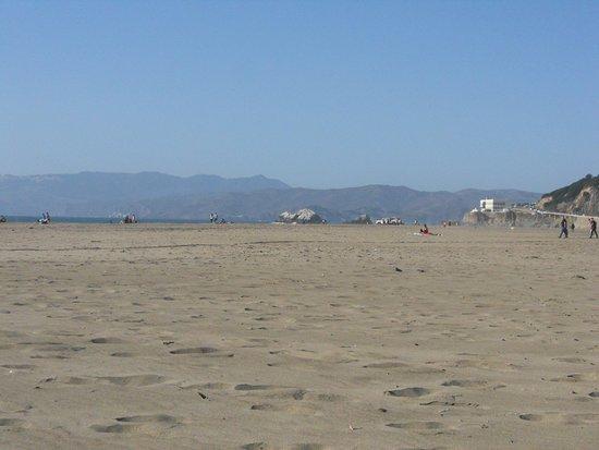 ocean beach near golden gate park