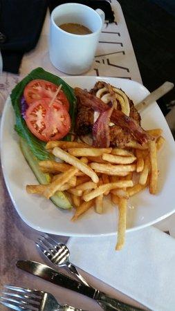 East Aurora, NY: Buttermilk chicken sandwich.