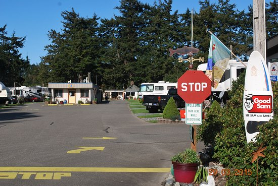 Port Orford, OR: Check In.