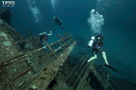 Utila, هندوراس: wreck diving