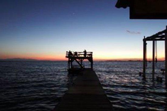Utila, هندوراس: the dock