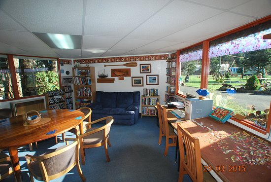 Port Orford, OR: Coffee room