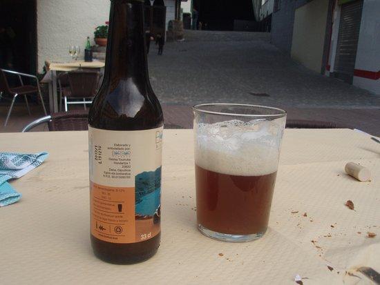 Izenbe: cerveza