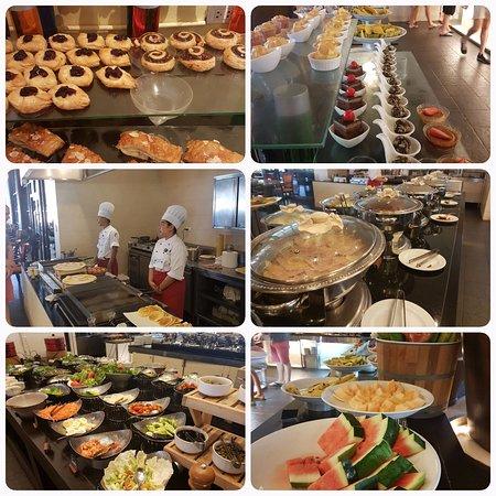 Rawi Warin Resort & Spa: Le déjeuner