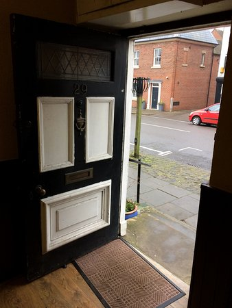 Entrance Door of Star Cafe, Eccleshall