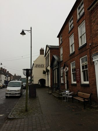 Exterior of Star Cafe, Eccleshall