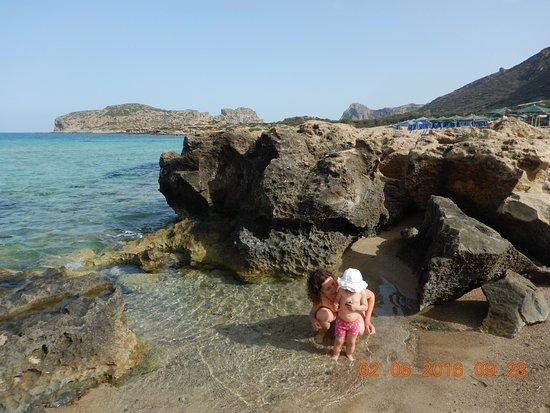 Falassarna, Hellas: Ideal fuer Kleinkinder