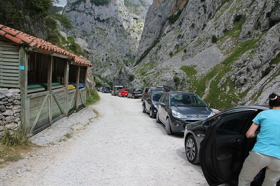 The Cares Gorge: Nack to the car