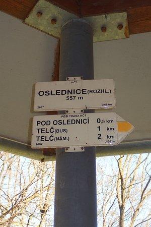 Telc, Repubblica Ceca: Označení KČT