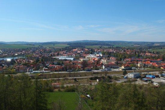 Telc, Repubblica Ceca: Výhled na Telč