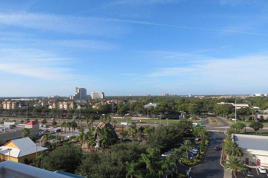 "Blue Heron Beach Resort: Balcony facing ""Disney""."