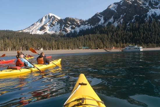 Kenai Fjords Wilderness Lodge: Full & half day kayaking available at minimal additional cost.