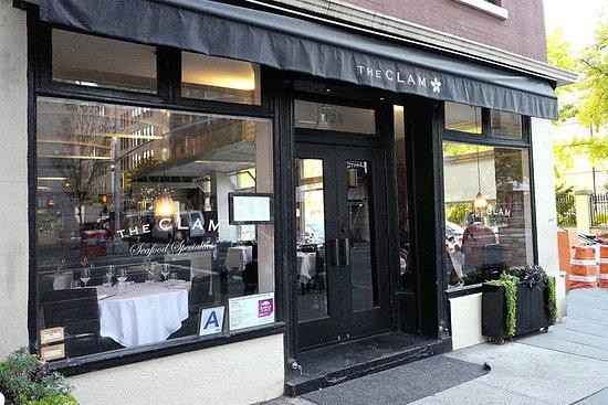 The Clam Restaurant On Hudson Street