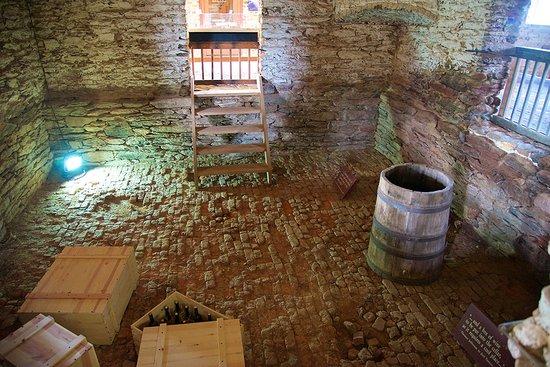 Forest, VA: The basement wine cellar...