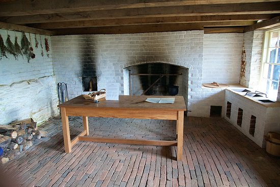 "Forest, VA: The ""modern"" early 19th century kitchen!"