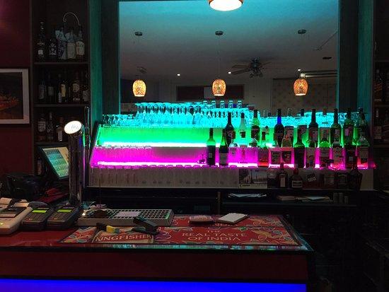Sheen, UK: Bar